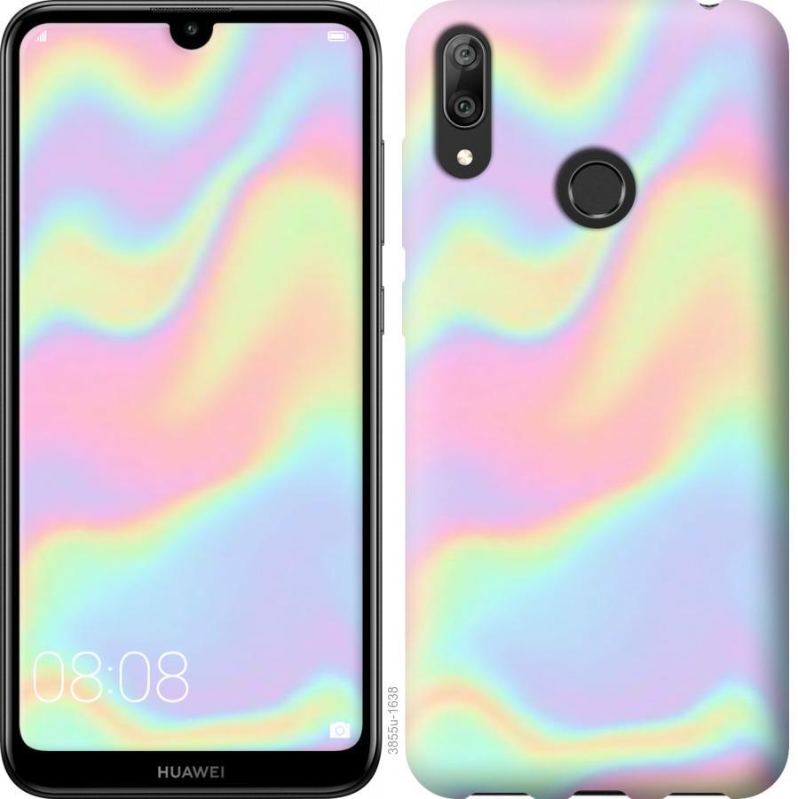 Чехол на Huawei Y7 2019 пастель