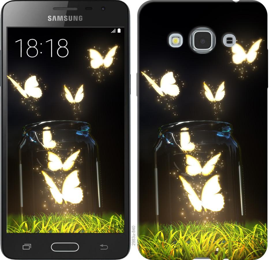 Чехол на Samsung Galaxy J3 Pro Бабочки