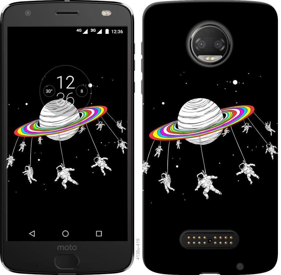 Чохол на Motorola Moto G5 PLUS Місячна карусель