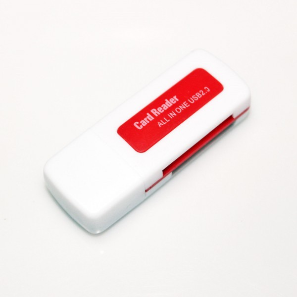 Картридер Navsailor 4in1 MicroSD/SD/MS/M2+USB (CR-401)