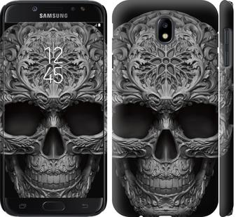 Чехол на Samsung Galaxy J7 J730 (2017) skull-ornament