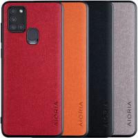 Чехол AIORIA Textile PC+TPU для Samsung Galaxy A21s