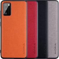 Чехол AIORIA Textile PC+TPU для Samsung Galaxy A41