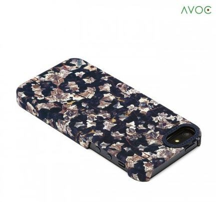 Фото Накладка AVOC Liberty Bar для Apple iPhone 5/5S/SE Navy / Ivy на itsell.ua