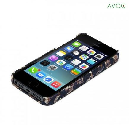 Накладка AVOC Liberty Bar для Apple iPhone 5/5S/SE Navy / Ivy в магазине itsell.ua