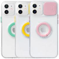 "Чехол Camshield ColorRing TPU со шторкой для камеры для Apple iPhone 12 (6.1"")"