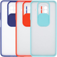 Чехол Camshield mate TPU со шторкой для камеры для Xiaomi Mi 10T Lite / Redmi Note 9 Pro 5G