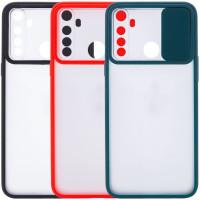 Чехол Camshield mate TPU со шторкой для камеры для Xiaomi Redmi Note 8