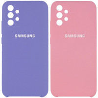 Чехол Silicone Cover (AAA) для Samsung Galaxy A32 4G