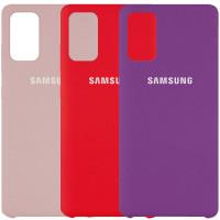Чехол Silicone Cover (AAA) для Samsung Galaxy S20+