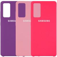 Чехол Silicone Cover (AAA) для Samsung Galaxy S20 FE