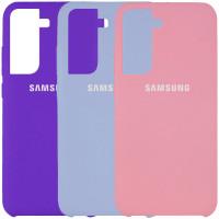 Чехол Silicone Cover (AAA) для Samsung Galaxy S21