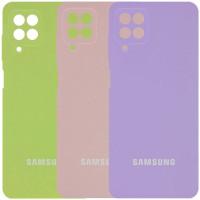 Чехол Silicone Cover Full Camera (AA) для Samsung Galaxy A22 4G / M32