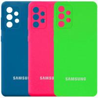 Чехол Silicone Cover Full Camera (AA) для Samsung Galaxy A72 4G / A72 5G