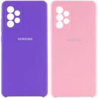 Чехол Silicone Cover Full Camera (AAA) для Samsung Galaxy A72 4G / A72 5G