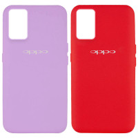 Чехол Silicone Cover Full Protective (AA) для Oppo A74 4G