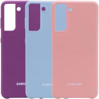 Чехол Silicone Cover (AA) для Samsung Galaxy S21+
