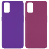 Чехол Silicone Cover Full without Logo (A) для Oppo A52 / A72 / A92