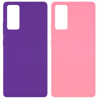 Чехол Silicone Cover Full without Logo (A) для Samsung Galaxy S20 FE