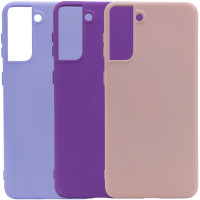 Чехол Silicone Cover Full without Logo (A) для Samsung Galaxy S21+
