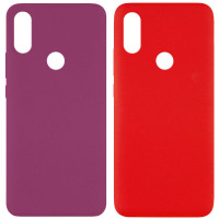 Чехол Silicone Cover Full without Logo (A) для Xiaomi Redmi Note 7s