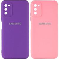 Чехол Silicone Cover My Color Full Camera (A) для Samsung Galaxy A03s