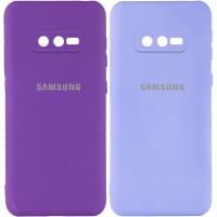 Чехол Silicone Cover My Color Full Camera (A) для Samsung Galaxy S10e