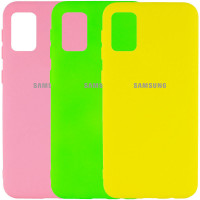 Чехол Silicone Cover My Color Full Protective (A) для Samsung Galaxy A02s