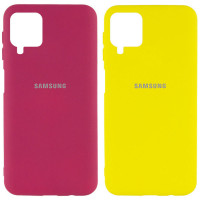 Чехол Silicone Cover My Color Full Protective (A) для Samsung Galaxy A12