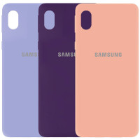 Чехол Silicone Cover My Color Full Protective (A) для Samsung Galaxy A01 Core