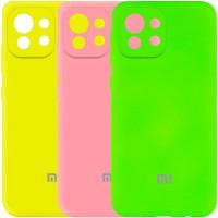 Чехол Silicone Cover My Color Full Camera (A) для Xiaomi Mi 11 Lite