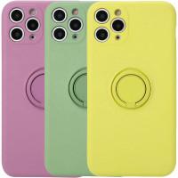 "Чехол TPU Candy Ring Full Camera для Apple iPhone 12 Pro Max (6.7"")"