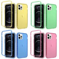 """Чехол TPU+PC Full Body с защитой 360 для Apple iPhone 12 Pro / 12 (6.1"""")"""