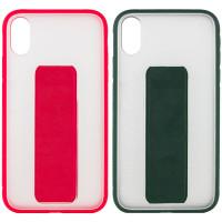 "Чехол TPU+PC Hand holder для Apple iPhone X / XS (5.8"")"