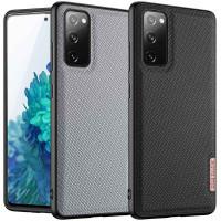 Чехол TPU+Textile Dux Ducis Fino для Samsung Galaxy S20 FE