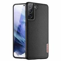 Чехол TPU+Textile Dux Ducis Fino для Samsung Galaxy S21+