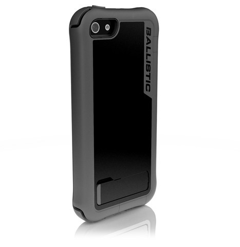 Фото Чехол Ballistic Every1 Series для Apple iPhone 5/5S/SE Серо - черный на itsell.ua