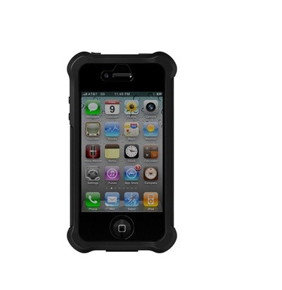 Фото Чехол Ballistic Shell Gel MAXX Series для Apple iPhone 4/4S черный на itsell.ua
