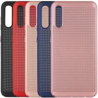 Ультратонкий дышащий чехол Grid case для Samsung Galaxy A50s