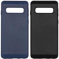 Ультратонкий дышащий чехол Grid case для Samsung Galaxy S10