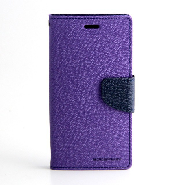 Фото Чехол (книжка) Mercury Fancy Diary series для Samsung G355 Galaxy Core 2 Фиолетовый / Синий на itsell.ua