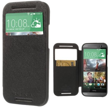 Фото Чехол (книжка) Mercury Wow Bumper series для HTC One / E8 на itsell.ua