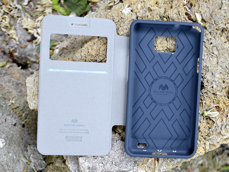 Фото Чехол (книжка) Mercury Wow Bumper series для Samsung i9100 Galaxy S2/i9105 Galaxy S2 Plus Белый на itsell.ua