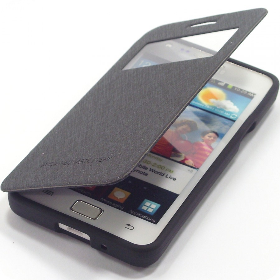 Купить Чехол (книжка) Mercury Wow Bumper series для Samsung i9100 Galaxy S2/i9105 Galaxy S2 Plus за 285 грн