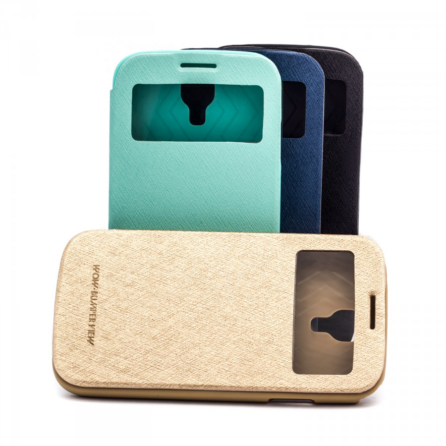 Купить Чехол (книжка) Mercury Wow Bumper series для Samsung i9500 Galaxy S4 (1 цвет) за 285 грн