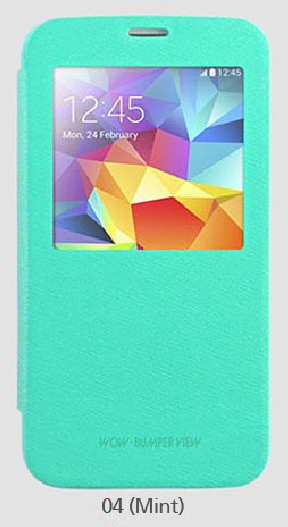 Фото Чехол (книжка) Mercury Wow Bumper series для Samsung i9500 Galaxy S4 (1 цвет) в магазине itsell.ua