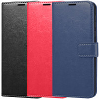 Чехол (книжка) Wallet Glossy с визитницей для Huawei Honor 8X
