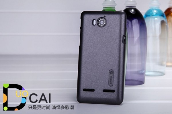 Фото Чехол Nillkin Multi-Color Series для Huawei U8950D (Ascend G600)/U9508 (Honor 2) (+ пленка) Черный на itsell.ua