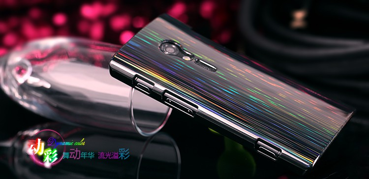 Чехол Nillkin Dynamic Color для Sony Xperia Ion (LT28i) (+ пленка)