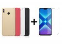 Чехол Nillkin Matte для Huawei Honor 8X + Защитное стекло Ultra 0.33mm для Huawei Honor 8X (в упаковке)